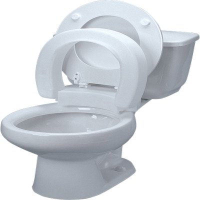 NV725711000EA - Tall-Ette Elevated Hinged Toilet Seat, Standard by Maddak Inc.