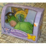 "Unimax Toys Anne Geddes Baby Butterflies ""Green"" Bean Fil..."