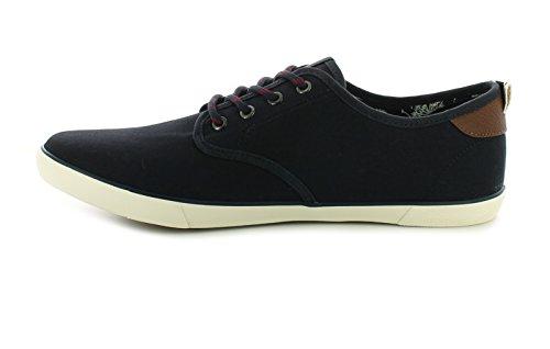 Hombre/hombre azul marino Jack&Jones Tachuela Con Cordones Zapatos de Diario - azul marino - GB Tallas 7-12