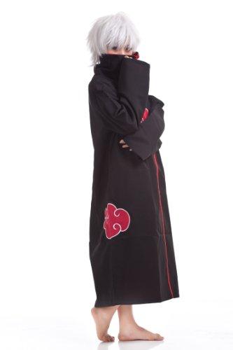 Mordor Naruto Akatsuki Uchiha Itachi Deluxe Cosplay Costume Coat Cloak MJ