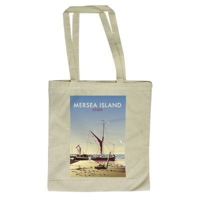 Island Illustrator Dave 420mm of Mersea x Tote Shopper with Art247 Thompson By design 380mm Bag 06Snxv