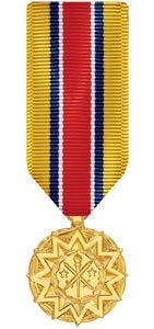 Medals of America National Guard and Reserve Achievement Medal Miniature Anodized