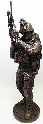 - Figurine Summit Collection Marine Infantry Navy Seal Soldier with Rifle 14