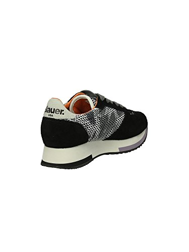 003763 Blauer Donna Roxane Mod Sneakers Col 1a Nero D01748 Scarpe Nero qxZqgT06