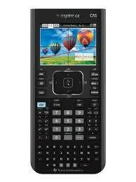 TI NSPIRE CX CAS GRAPHING CALCULATOR WITH FULL COLOR DISPLAY by Texas Instruments