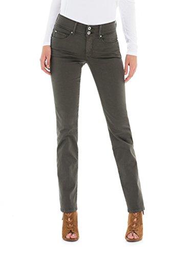 Slim Pantalon Secret Salsa Femme Push Vert In 78wwdIq
