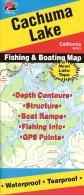 Cachuma Lake Fishing Map (California Fishing Series, (A130 Series)