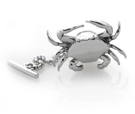 M-Clip Crab Pin Polished