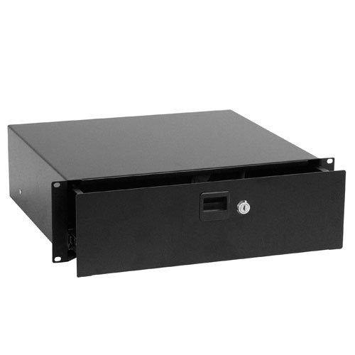 Zomo ZM61899 - Cassetto incassabile con serratura, colore nero HS-3