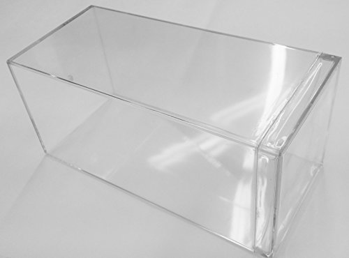 Heavy Duty Clear Acrylic Display Case Box For 1.24 Scale Diecast Cars Scale Diecast Acrylic Display