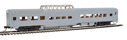 WalthersMainline - 85' Budd Dome Coach - Ready to Run -- Undecorated - HO