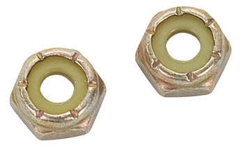 SELF LOCK NUT/NYLON/STEEL/CADMIUM PLATED/6/32