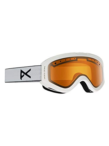Anon White Tracker Kids Snow Goggles One Size ()
