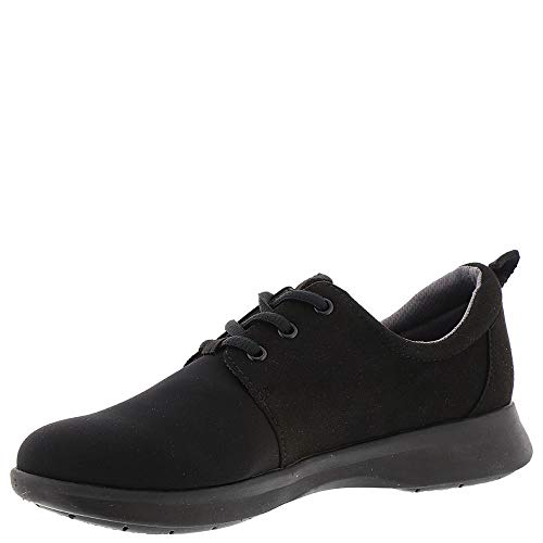 Black Women's Lycra Oxford Black Relax Microfiber SoftWalk wz6OqUxO
