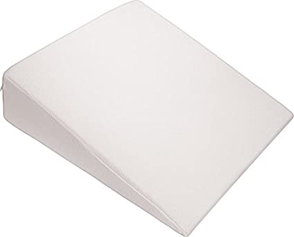 Wedge Bed Pillow   Elevated Supportive Cushion   28u0026quot; X 24u0026quot; X  7.5u0026quot;
