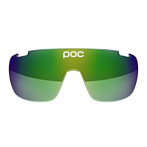 (POC Do Blade Spare Lens, Versatile Sunglasses, Green/Green Mirror)