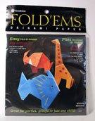 UPC 031248506375, Yasutomo Fold'ems Fold by Number Origami Paper wild animals