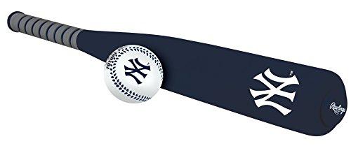 MLB Foam Bat and Ball Set New York Yankees,One Size,Blue