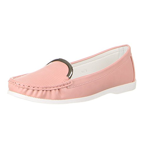 Ital-Design - zapatilla baja Mujer Rosa - rosa
