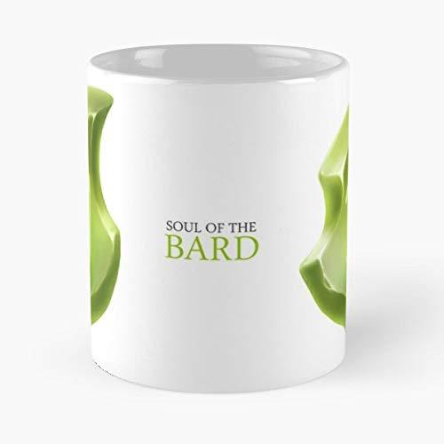 Tasse Kaffee Motive Ffxiv Final Fantasy Xiv Mmo Crystal Gemstone Gem Bard Green Best 11 oz Kaffee-Becher