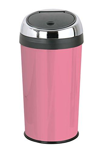 Premier Housewares Push-Abfalleimer 30 l Candy Pink