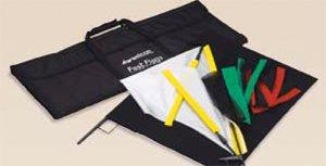 Westcott 1937 Fast Flags 18 x 24 Inches Fast Flag Kit (Black)