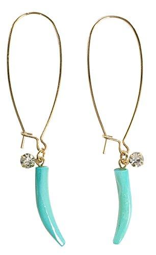 Horn Clip Earrings - 7