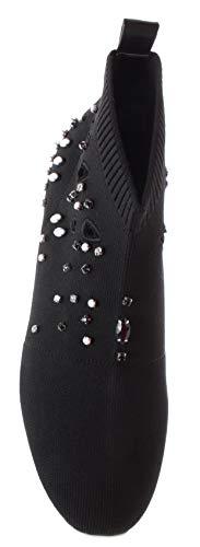 15 Donna Peach Jo In Liu Sneaker Black Tessuto Karlie IwzgxPqE