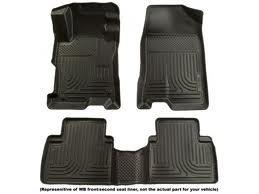 Husky WeatherBeaters 2010-12 Toyota 4Runner Front & 2nd Seat Floor Liners (4runner 2nd Seat Floor)