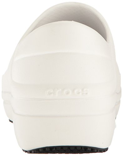 Crocs Pro Clog White Women's Neria Work 77cwRrZCqP