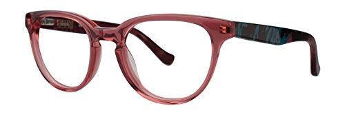 KENSIE Eyeglasses TRENDY Crystal Pink 49MM