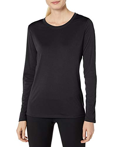 Famous Groups Of 6 For Halloween (Hanes Women's Sport Cool Dri Performance Long Sleeve Tee, Black,)