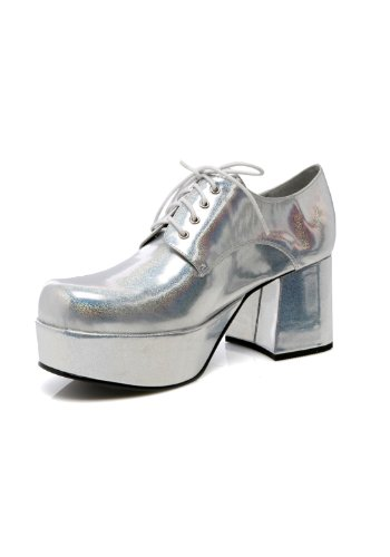 Funtasma by Pleaser Men's Jazz-02 Platform Oxford Silver Hologram free shipping official site buy cheap professional sale popular 2014 unisex outlet high quality R5vcsuzwa