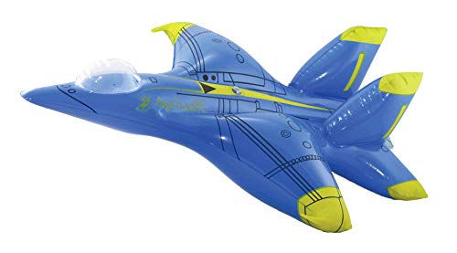 InAir Inflatable F-18 Hornet Blue ()
