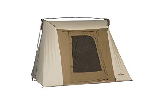 TETON Sports Mesa 10 Canvas Tent; All Season Tent; Designed for Your Family's Camping Adventures; 4-6 Person Tent