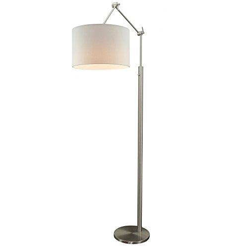 Flurlampe Stehlampe ZARA Stehleuchte Flurleuchte Lampe 178 cm Schirm ...
