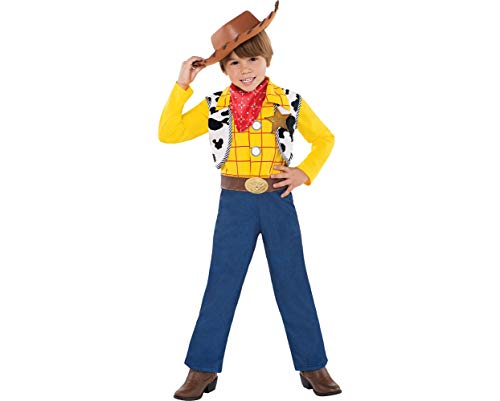 Party City Toy Story Woody Halloween Costume for Toddler Boys, 3-4T, with Included Accessories ()
