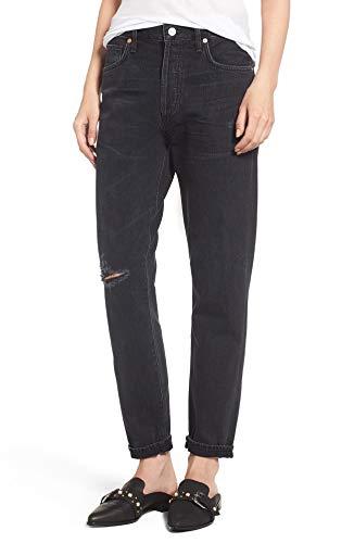 Citizens of Humanity Liya High Waist Slim Boyfriend Jeans (27, Distressed Outsider)