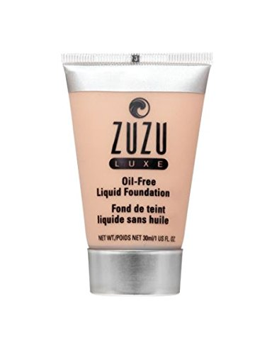 Zuzu Luxe,Oil Free Liquid Foundation (L-11),1 fl oz.Infused with vitamins A,E,aloe to keep skin supple and resilient.Natural, Paraben Free, Vegan, Gluten-free, Cruelty-free, Non GMO.