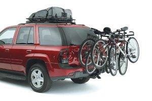 Rola Cargo Bag (Class III Bike Rack - Universal - Black ROLA Bike Carrier, 4 Bike, 2