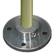 Lee Engineering Zinc Vertical Base Plate