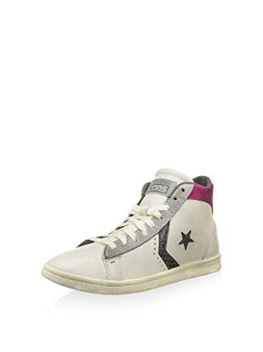 Sneaker Pro It Alta Mid Converse Lp Is Size Selection Bianco In fucsia Not RdTaZq