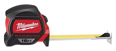 MILWAUKEE ELEC TOOL 48-22-7116 Milwaukee 16'. Premium Magne (Tape Measure Magnetic)