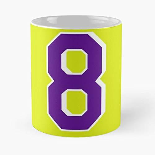 Retired Number Los Angeles Funny Basketball Gift Coffee/tea Ceramic Mug 11 Oz -