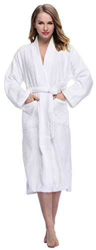 Expressbuynow Womens Bathrobe Turkish Cotton