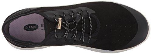 Dr. Scholls Dames Flyer Sneaker Zwart Microfiber
