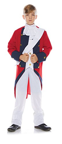 Underwraps Little Boy's Little Boy's Redcoat Soldier Costume Set Childrens Costume, Multi, Large ()