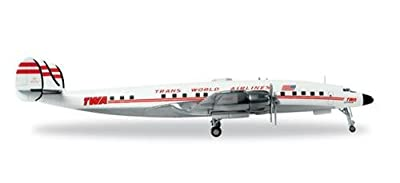 Herpa Wings 558372 Trans World Airlines Lockheed L-1649A Jetstream 1/200 Scale