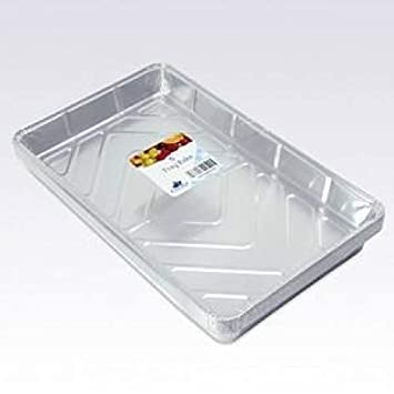 Essential Housewares - Molde desechable, Color: Plata (FTRBK6): Amazon.es: Hogar