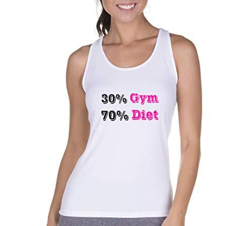 Regata Criativa Urbana Cavada Fitness Diet Branco M ... f71d06c798b